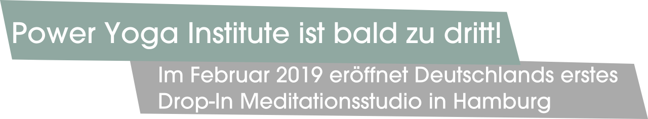 Power Yoga Institute ist bald zu dritt!